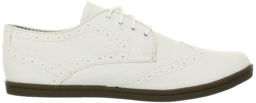 Ben Sherman Nick Canevas, Chaussures basses hommes Blanc (White)