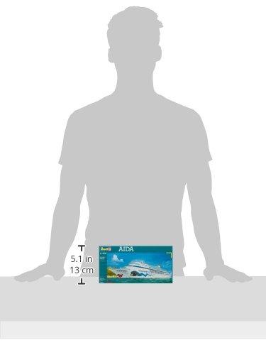 Imagen 1 de Revell 05805 - Maqueta de buque Aida (escala 1:1200)