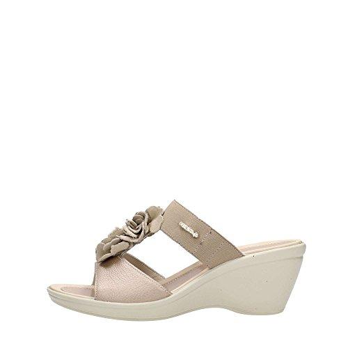 Enval 5974200 Sandalo Donna Pelle Taupe Taupe 40