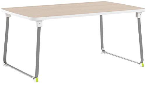 SALCAR Ordinateur Table Portable, Ordinateur Table Basse Pliable, Table légère pour Bureau à Domicile, 60 * 36 * 27,5 cm, Bois