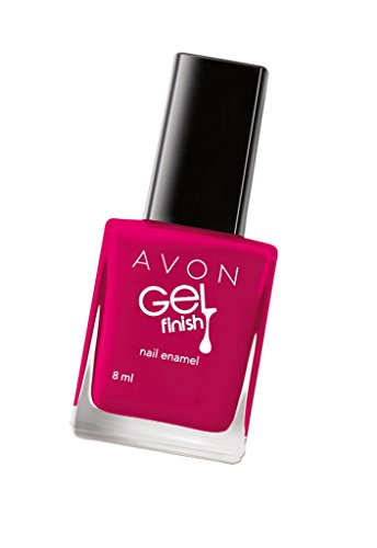 Avon Gel Finish Nail Enamel, Candy Apple, 8ml