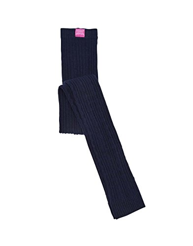 TOM JOULE Mädchen Leggings Blau Lulu Strick ohne Fuß - Größe: 122/128 (Cable Knit Leggings)