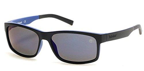 Occhiali da sole polarizzati timberland tb9104 c60 91d (matte blue / smoke polarized)