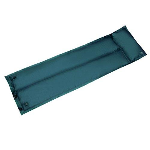TYJ Picknick-Decken Automatische Aufblasbare Kissen Individuelle Outdoor Feuchtigkeitsfeste Pad Camping Zelte Schlafmatten Spleiß ( Farbe : Grün )