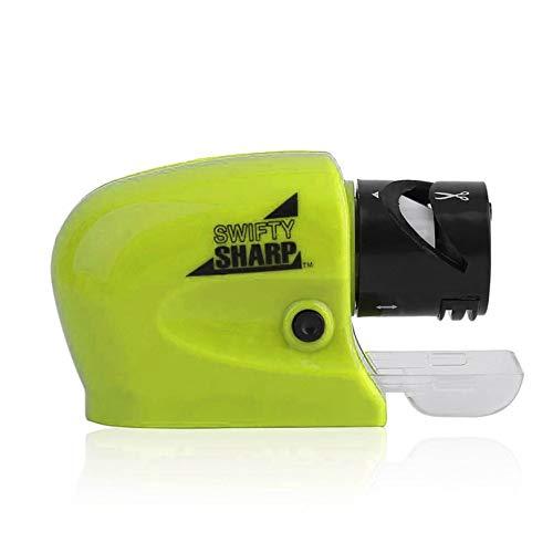 Appearancees Professional Grade Multipurpose Built-in Guide Electric Ceramic Knife Sharpener Sharpening Stone Kitchen Tool Ceramic Electric Knife Sharpener