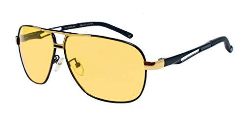 44165bb975 rainbow safety Hombres Gafas de Sol Visión Nocturna Lentes Fotocromáticas  Polarizadas RWNP5 (Visión Nocturna Cat