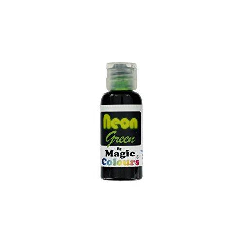 Magic Colours NEON Green - NEON GRÜN 32 g Pastenfarbe (Neon-lebensmittelfarbe)