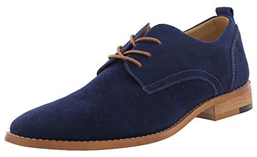 4How Chaussure Ville Homme-Homme Chaussure Confortable pour Usages Quotidiens 42 EU