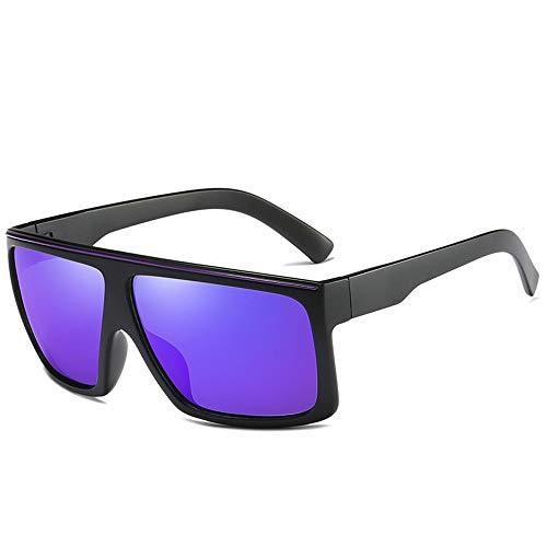 Easy Go Shopping Pouch & Cross Set Unisex-Sonnenbrille mit polarisierten Gläsern von Wellington Sonnenbrillen und Flacher Spiegel (Color : Lila, Size : Kostenlos)