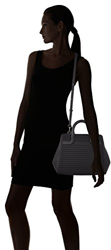 Mandarina Duck - You Leather Tracolla, Borse a spalla Donna Nero (Black)