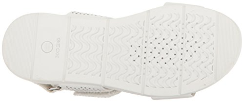 Geox Damen D Koleos A Slingback Weiß (WHITEC1001)