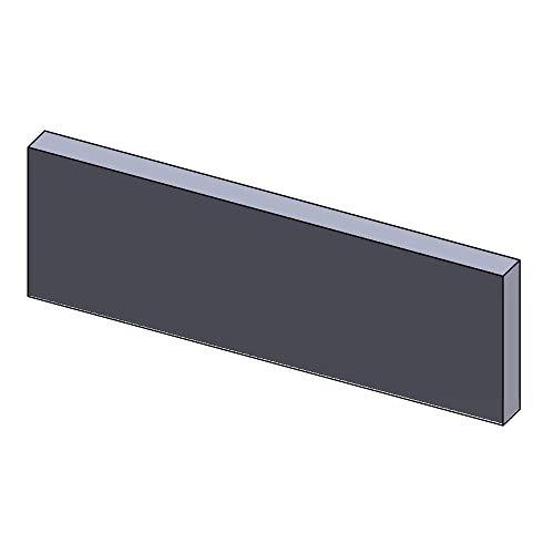 Flamado Heizgasumlenkplatte unten 448x145x30mm (Schamotte)
