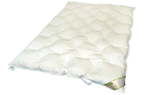 moebelfrank Kinder Daunendecke Bettdecke Baby Winter-Decke 100x135 100% Gänse-Daunen Knut