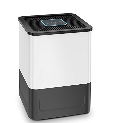 Luftreiniger Wohnung Raucherzimmer Air Purifier mit HEPA Filter 3-MODI, 5-Schicht-Filtrationssystem und Timing-Funktion gegen Staub Pollen Tierhaare Geruch für Allergiker und Raucher