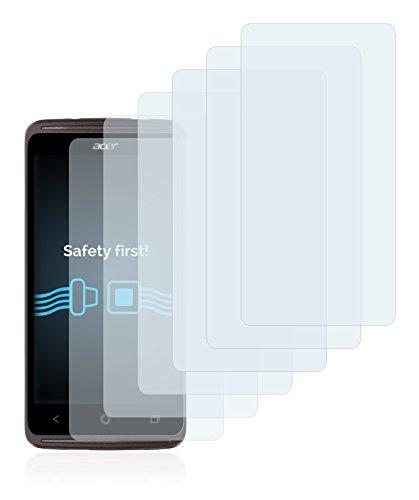 Savvies Schutzfolie für Acer Liquid Z410 Plus [6er Pack] - klarer Displayschutz