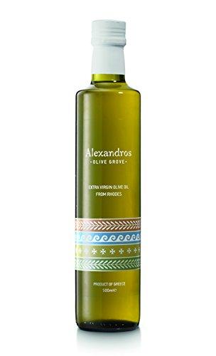Preisvergleich Produktbild Alexandros - extra virgin Olivenöl von Rhodos 0, 5 Liter (1)
