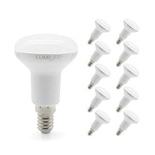 Lumilife 5W E14LED Reflektor-Glühbirne, 10Stück Kühles Weiß 35W Ersatz