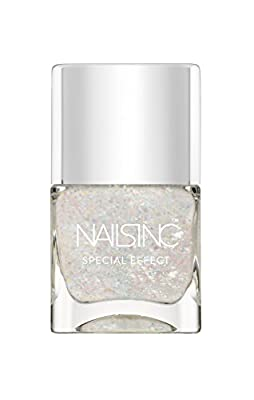 NAILS INC Top Coat, St Georges Square Crystal