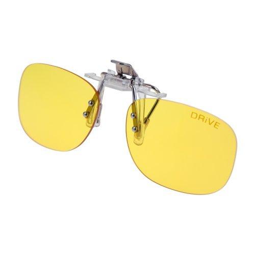 PRiSMA CLiP-ON DRiVE Day&Night - Blueblocker Autofahrer Brillenaufstecker - Brillen-Clip - Brillenaufsatz - CP923D
