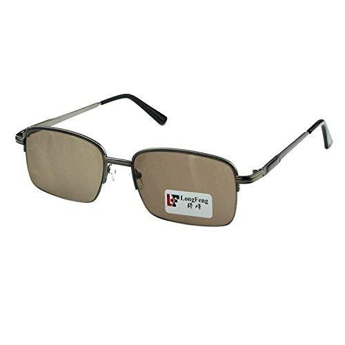 Man natürlichen Kristallgläser Rock Mirror Driver Sonnenbrille Fahrer der Spiegel Crystal Sun Mirror männlich Anti- müde -