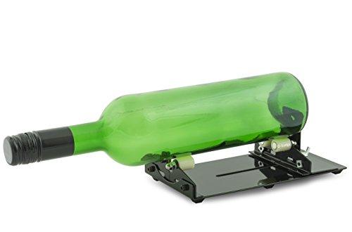 Gadgy ® Maquina Cortador de Botellas de Vidrio | Glass Cristal Bottle Cutter | Hacer Corta Objetos Decoracion Cristaleria Portavelas Candelabros Vaso Decorativas