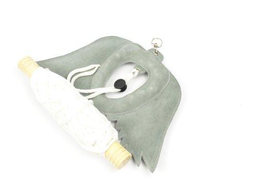 Alta calidad Real Suede Piel señuelo de cetrería/Pájaro señuelo de señuelo de/swing con alas.
