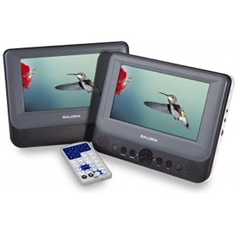 Salora DVP7048TWIN reproductor de dvd/bluray portátiles - Reproductor portátil (LCD, 17,78 cm (7