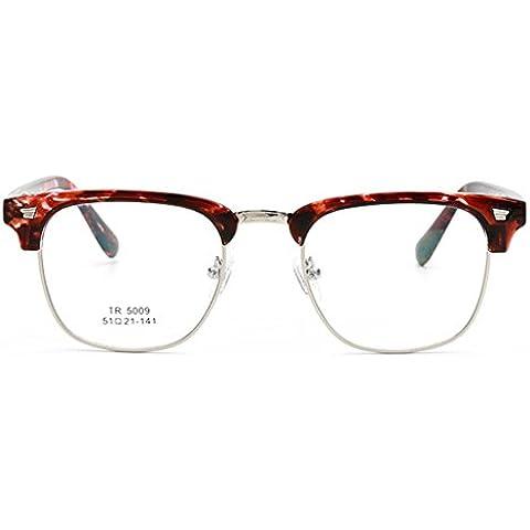 Vollter TR90 ottico telaio vetri le donne occhiali degli uomini occhiali RX orlo mezzo