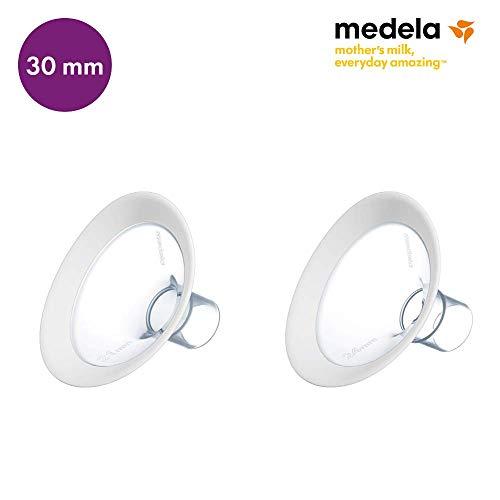 Medela 101033999 PersonalFit Flex Embudo para sacaleches, Diámetro 30 mm, Paquete de 2