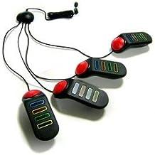 Alechip - Ps2 set de 4 mandos buzzers