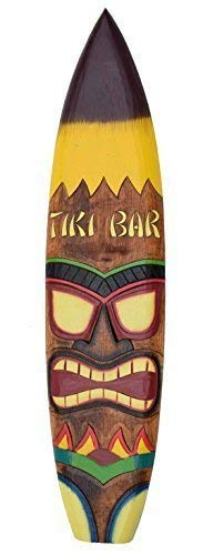 Interlifestyle Tavola da Surf 100cm Tiki BAR Tiki Decorazione da Appendere Lounge Stile
