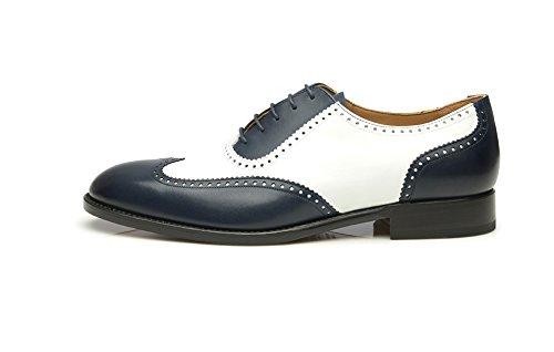 SHOEPASSION.com - N° 387 Bleu-Blanc