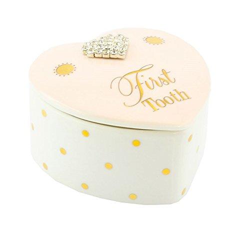 Wunderhübsche Milchzahndose Mad Dots für Mädchen