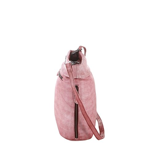Rada Nature Umhängetasche 'Euclid Ave' echt Leder Tasche in verschiedenen Farben Dunkelgrau