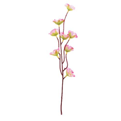 ELECTROPRIME 100Pcs Artificial Sakura Silk Flowers Heads Wedding Home Bridal Decor Pink