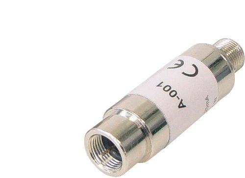 Mini Koaxial Kabel Verstärker (F-Stecker auf F-Kupplung) 18dB Verstärkung max. 3,5dB Rauschmaß - Mini Koaxial-video-kabel