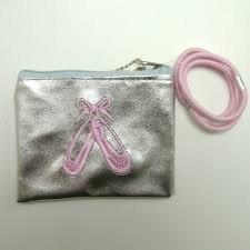 girls-ballet-shoe-purse-with-3-pink-hair-elastics