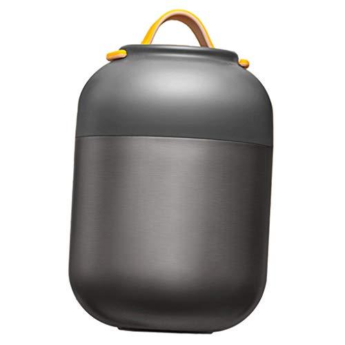 Baoblaze 700ml Vakuum Isolierflasche Edelstahl Lebensmittelbehälter Thermobehälter für Lebensmittel - Grau