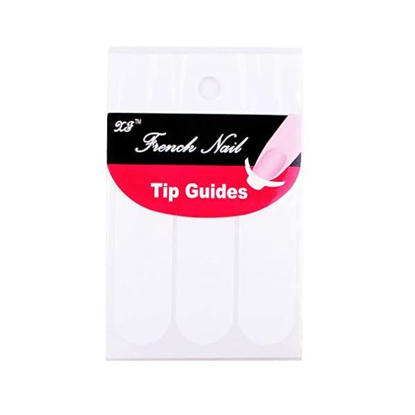 Elite99 Manicura Francesa Semipermanente Kit, 6 Colores de Esmaltes de Uñas Semipermanentes en Gel UV LED 10ML con…