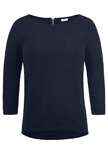 ONLY Gretel Damen Sweatshirt Pullover Sweater Mit Rundhalsausschnitt, Größe:L, Farbe:Sky Captain