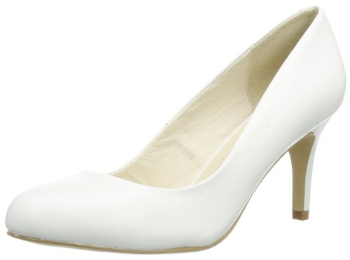 Buffalo London 113-2879-1 Damen Pumps Weiß (bianco)