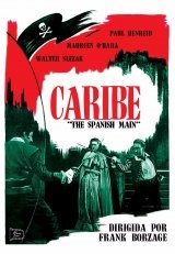 Caribe - The Spanish Main - Director Frank Borzage - Maureen O´Hara, Paul Henreid y Walter Slezak. Audio in Englisch und Spanis