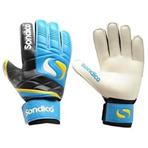 Sondico Elite Finger Pro Tect Goalkeeper Gloves Ju Blue