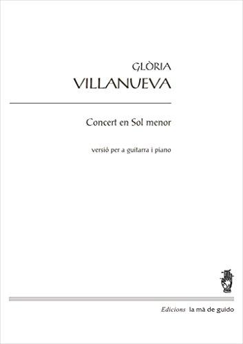 Concert en Sol menor: per a piano i guitarra (Catalan Edition ...
