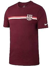 Nike 2018-2019 Barcelona Core Crest tee (Deep Maroon)
