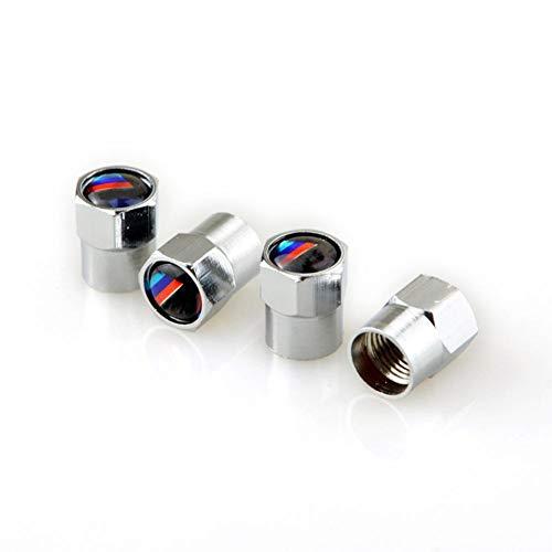 iBaste-IT Tappi Valvola per Pneumatici 4 Pezzi Tappo Serbatoio per Valvola Auto-Styling per BMW F30 F20 F10 F15 F13 M3 M5 M6 X1 X3 X5 X6 X6 Senie 320I 116I 118I 328I 530I Set di Riparazione