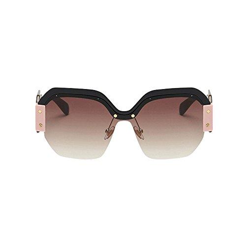 Merical donne datati occhiali da sole retro grandi della struttura uv400 modo delle signore eyewear