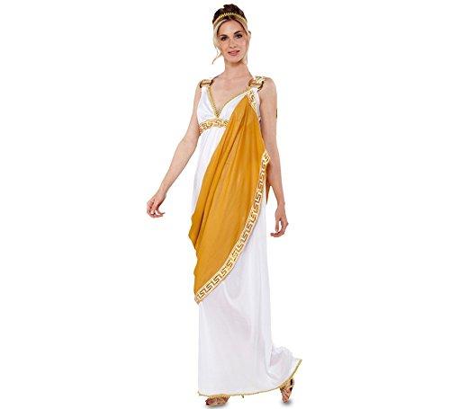 Kostüm China Antike Von - Kostüm Römerin Gr. S/M Kleid weiß-gold Schärpe Griechin Antike Karneval