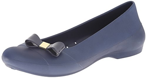 Crocs Gianna Bow, Ballerines Bout fermé Femme Bleu (Navy/Navy)