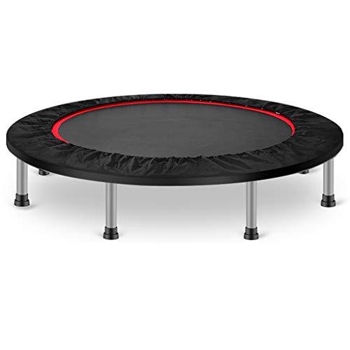 LKFSNGB 50-Zoll-Fitness-Trampolin - Falt- und Einklemmschutz, Fitness-Home-2-in-1-Sporttrampolin - Belastbarkeit 400 kg (statisch)